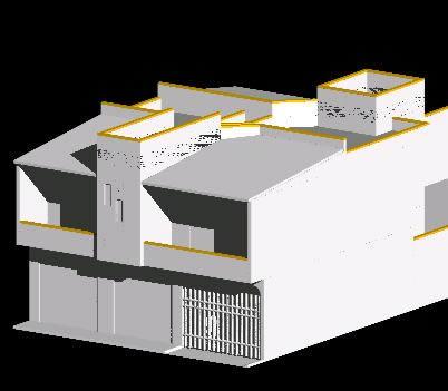 Planos de casas planos de construccion Modelo de casa con local comercial