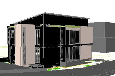 imagen Casa en 3d, en Vivienda unifamiliar 3d - Proyectos