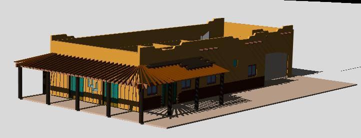 imagen Casa en la playa, en Vivienda unifamiliar 3d - Proyectos