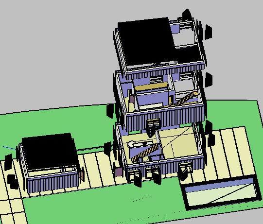 imagen Casa en las rozas 3d, en Vivienda unifamiliar 3d - Proyectos
