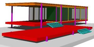 imagen Casa farnsworth-mies van der rohe, en Obras famosas - Proyectos
