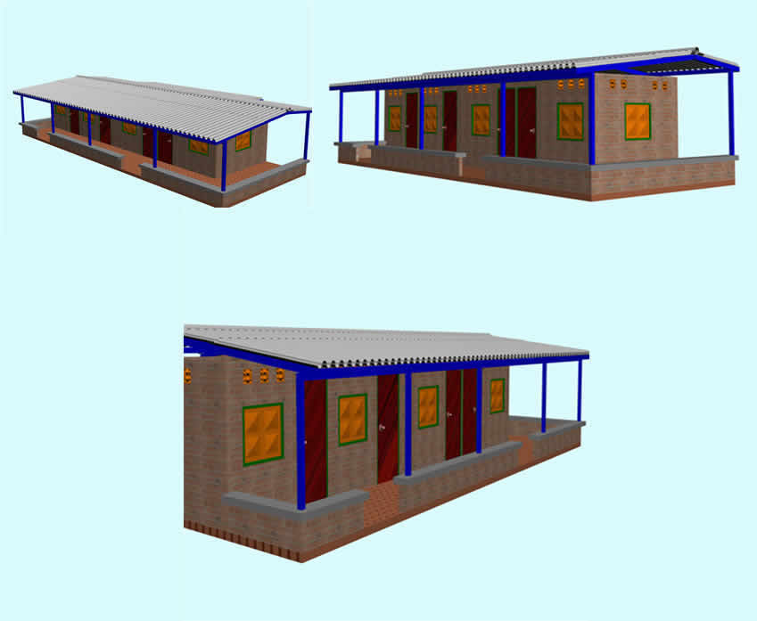 imagen Casa finca 3d, en Vivienda unifamiliar 3d - Proyectos