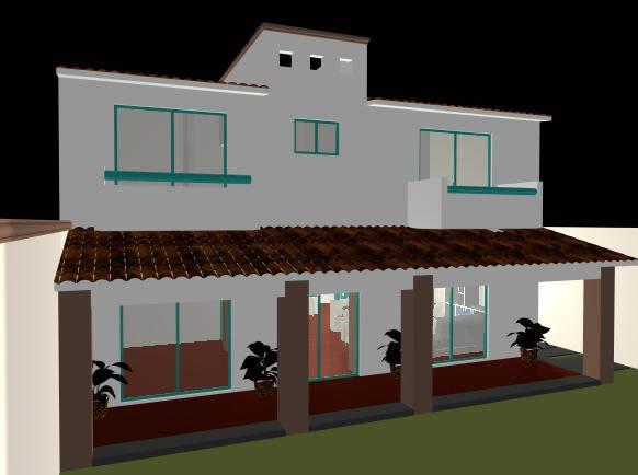 imagen Casa habitacion 3d, en Vivienda unifamiliar 3d - Proyectos