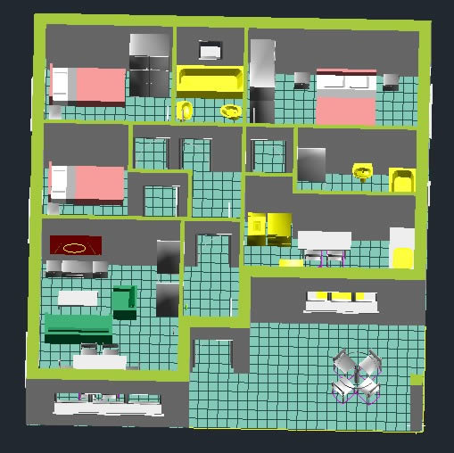 Planos de casas grandes en 3d finest diseo casa plano d for Plano habitacion online