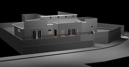 imagen Casa habitacion terreno alto - 3d, en Vivienda unifamiliar 3d - Proyectos