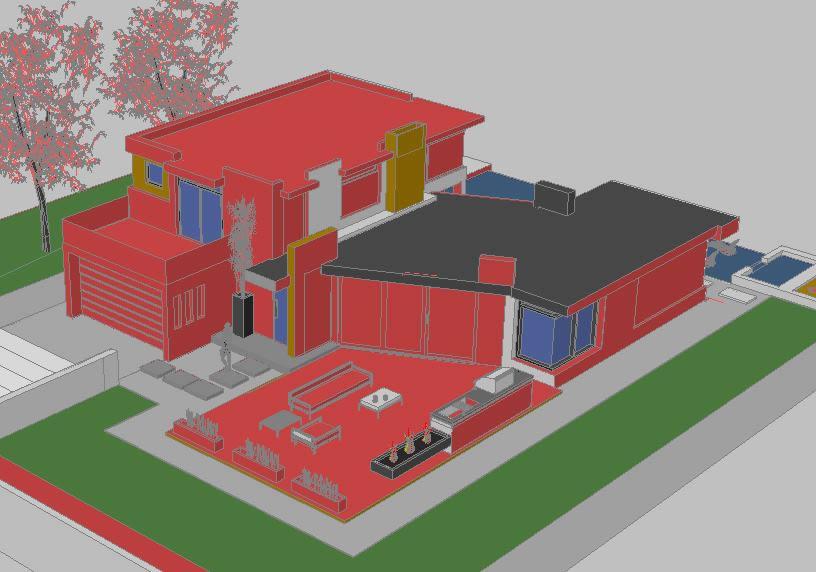Planos de casas planos de construccion for Proyectos casas modernas