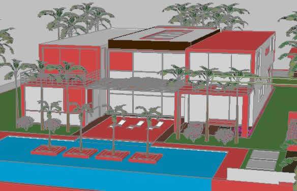 imagen Casa playa 3d, en Vivienda unifamiliar 3d - Proyectos