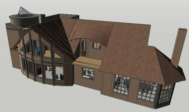 imagen Casa residencial 3d, en Vivienda unifamiliar 3d - Proyectos