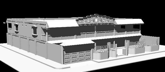 imagen Casa- residencial, en Vivienda unifamiliar 3d - Proyectos