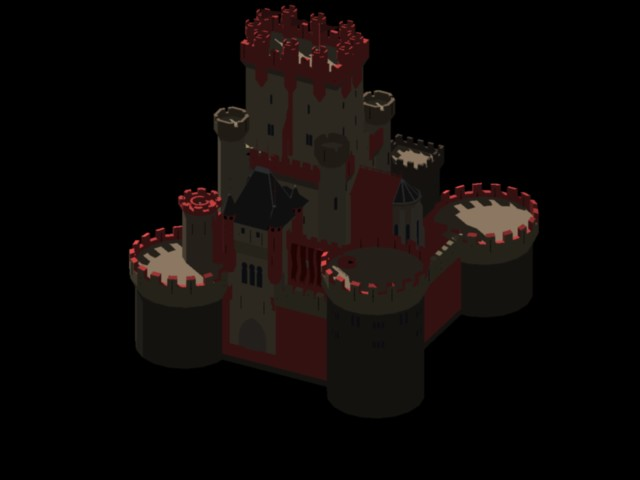 imagen Castillo de butron 3d, en Residencias y palacetes - Historia
