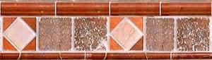 imagen Cenefas decorativa, en Pisos cerámicos - Texturas
