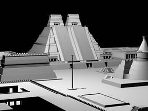 imagen Ciudad historica precolombina 3d, en Sitios arqueológicos - Historia