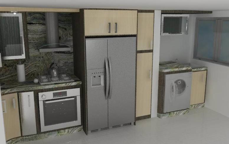 Cocinas archives planos de casas planos de construccion for Planos de cocinas en l