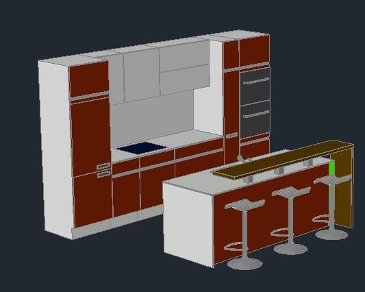Planospara author at planos de casas planos de for Planos de cocina americana
