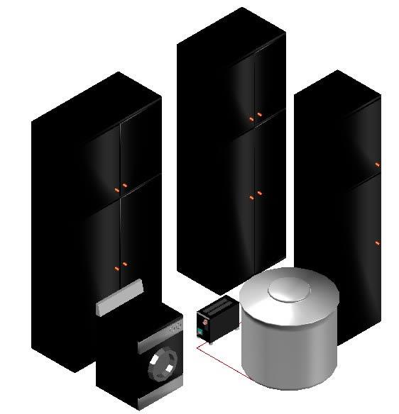 imagen Cocina 3d - muebles varios, en Electrodomésticos - Muebles equipamiento