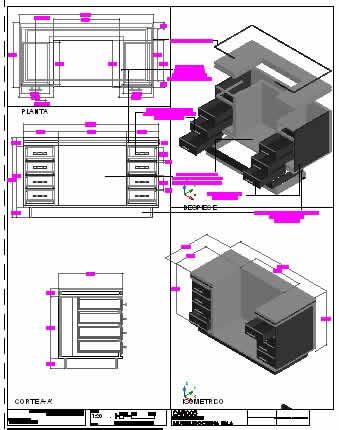 Planospara author at planos de casas planos de for Muebles de cocina planos pdf