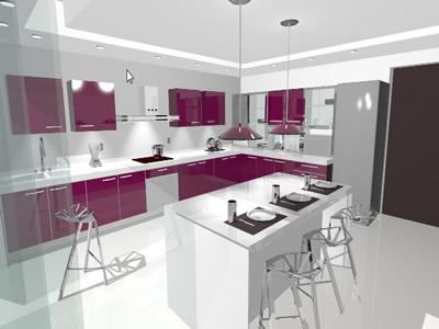 Planos de casas planos de construccion for Planos de gabinetes de cocina