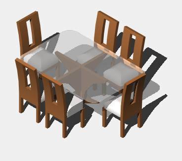 planos de comedor 3d en mesas y juegos de comedor 3d