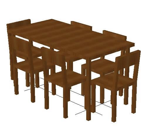 Mesas y juegos de comedor 3d archives p gina 6 de 22 for Madera para mesa de comedor