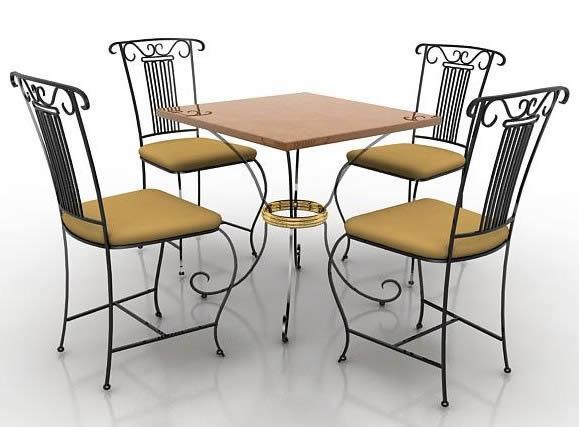 imagen Comedores, en Mesas y juegos de comedor 3d - Muebles equipamiento