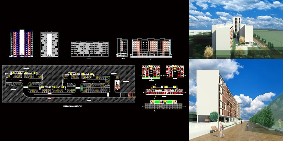 imagen Condominio apartamentos, en Vivienda multifamiliar - condominios - Proyectos