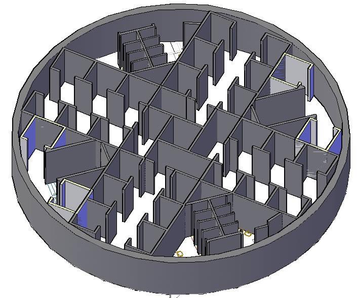 imagen Construccion de centrales, en Hormigón armado - Detalles constructivos