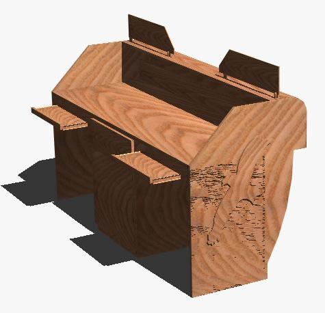 imagen Contador, en Escritorios - Muebles equipamiento