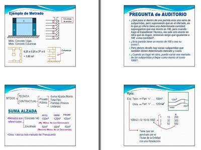 imagen Costo y presupuesto, en Medición y presupuestacion de obras - Planillas de cálculo