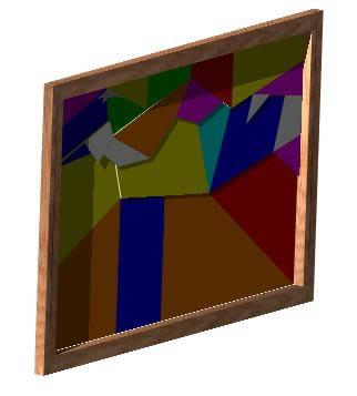 imagen Cuadro en 3d, en Cuadros - Muebles equipamiento