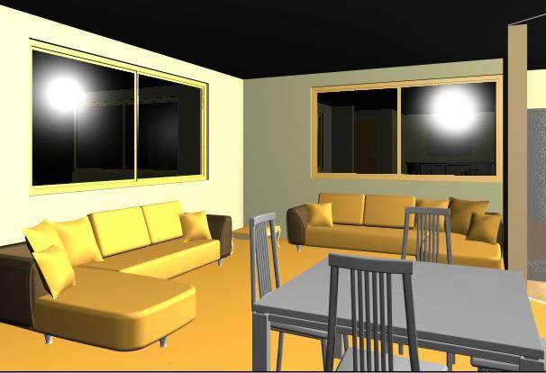 imagen Departamento de soltero 3d, en Vivienda unifamiliar 3d - Proyectos