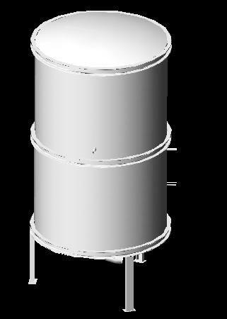 imagen Deposito 3d, en Tanques - Máquinas instalaciones