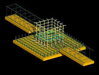 imagen Detalle de cimentación de zapata y riostra, en Cimentaciones - Detalles constructivos
