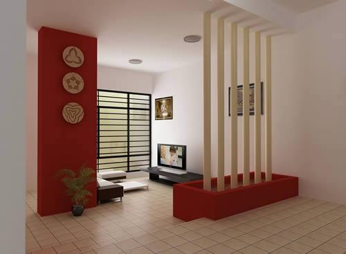 imagen Detalle interior de vivienda 3d, en Vivienda unifamiliar 3d - Proyectos