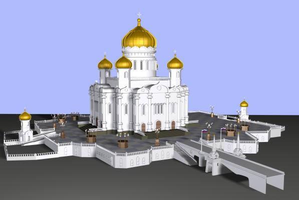 imagen Dibujo 3d max, en Edificios varios - Historia