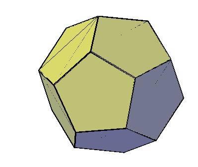 imagen Dodecaedro 3d, en Ejercicios varios - Dibujando con autocad