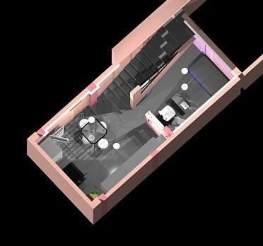 imagen Duplex 3d, en Vivienda unifamiliar 3d - Proyectos