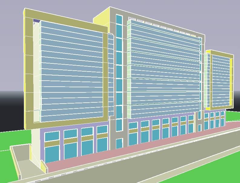 imagen Edificio de oficinas, en Oficinas bancos y administración - Proyectos