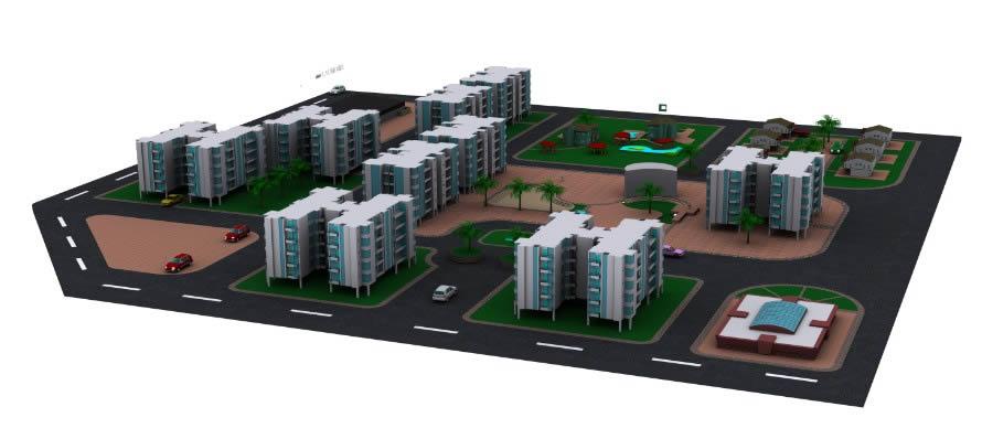 imagen Edificio residencial, en Vivienda multifamiliar - condominios - Proyectos