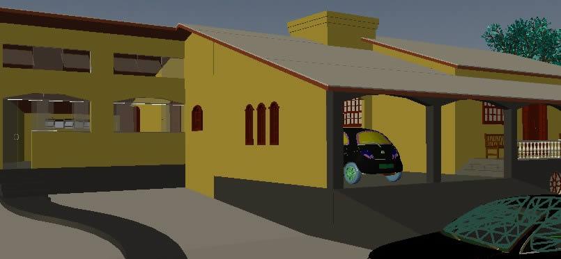 imagen Edificio residencial, en Vivienda unifamiliar 3d - Proyectos