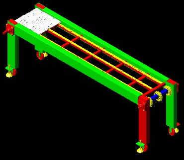 imagen Equipo transportador, en Maquinaria - proyectos varios - Máquinas instalaciones