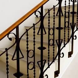 imagen Escalera antigua 3d, en Modelos de escaleras 3d - Escaleras