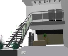 imagen Escalera, en Modelos de escaleras 3d - Escaleras