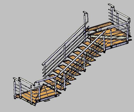 Modelos de escaleras 3d archives p gina 10 de 11 for Plano escalera madera