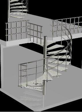 Planos de escaleras con materiales 3d en modelos de escaleras 3d escaleras en planospara - Materiales para escaleras ...