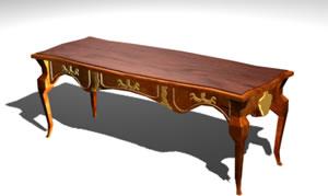 imagen Escritorio clasico, en Escritorios - Muebles equipamiento
