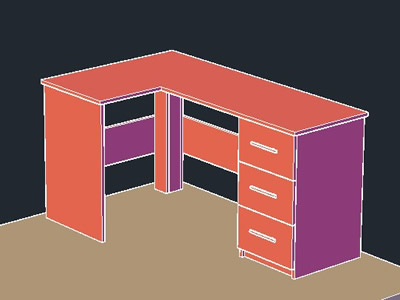 imagen Escritorio de la computadora, en Escritorios - Muebles equipamiento
