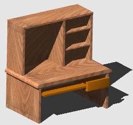 imagen Escritorio doble modulo, en Escritorios - Muebles equipamiento
