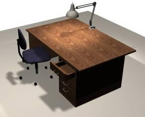 Oficinas y laboratorios archives p gina 6 de 11 planos for Muebles para oficina 3d max