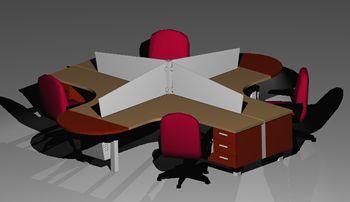 imagen Escritorio, en Oficinas y laboratorios - Muebles equipamiento