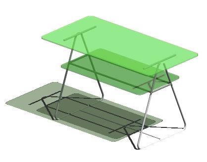 imagen Escritorio vidrio, en Escritorios - Muebles equipamiento